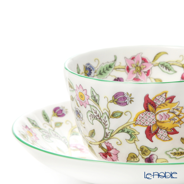 Minton 'Haddon Hall' Green Tea Cup & Saucer 220ml