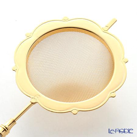 Minton 'Haddon Hall' Gold HH052G Tea Strainer 15cm