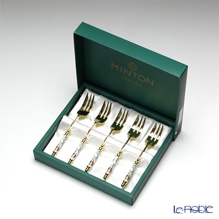 ミントン ハドンホールケーキフォーク 5本セット HH002G-CF