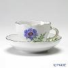 マイセン(Meissen) ベーシックフラワー(一つ花) 030110/00582/01コーヒーカップ&ソーサー 200cc Motiv No.1 アネモネ