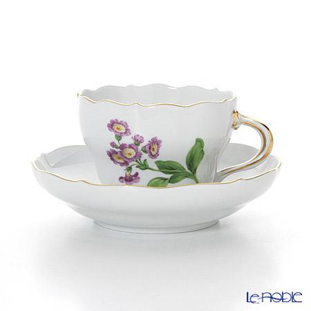マイセン(Meissen) ベーシックフラワー(一つ花) 030110/00582/05 コーヒーカップ&ソーサー 200cc Motiv No.5 桜草