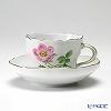 マイセン(Meissen) ベーシックフラワー(一つ花) 030110/00582/13コーヒーカップ&ソーサー 200cc Motiv No.13 野バラ