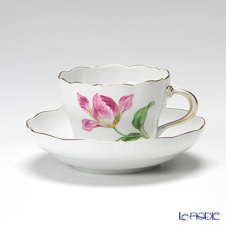 マイセン(Meissen) ベーシックフラワー(一つ花) 030110/00582/33 コーヒーカップ&ソーサー 200cc Motiv No.33 チューリップ