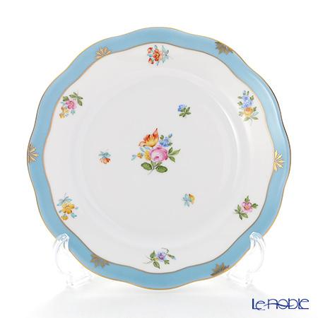 ヘレンド ローズチューリップ ブルー RTFB 20517-0-00 プレート 19cm