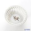 Herend 'Rothschild Bird / Rothschild Oiseaux' RO 07373-0-00 Round Basket (openwork) 9cm