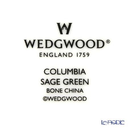 ウェッジウッド(Wedgwood) コロンビアセージグリーンプレート 20cm