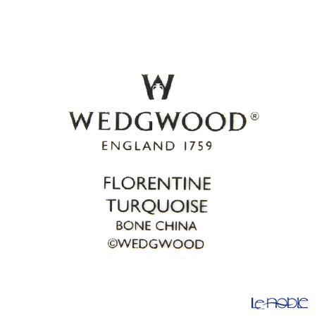 ウェッジウッド(Wedgwood) フロレンティーン ターコイズブレッド&バタープレート 27cm