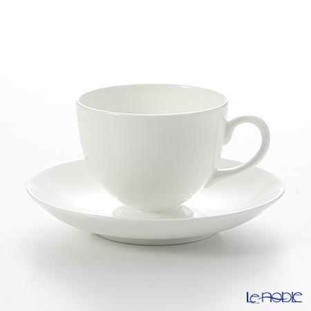ウェッジウッド(Wedgwood) ホワイトチャイナ ティーカップ&ソーサー(リー)