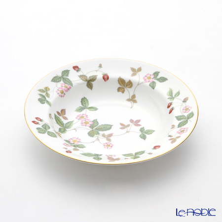 Wedgwood 'Wild Strawberry' Soup Plate 20.5cm