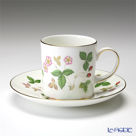 ウェッジウッド(Wedgwood) ワイルドストロベリー コーヒーカップ&ソーサー(キャン)