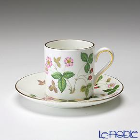 ウェッジウッド(Wedgwood) ワイルドストロベリー コーヒーカップ&ソーサー(ボンド)
