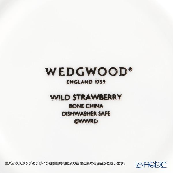 ウェッジウッド(Wedgwood) ワイルドストロベリーティーカップ&ソーサー(ピオニー)