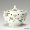 Wedgwood Wild Strawberry Sugar Pot (L)