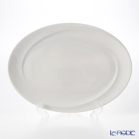 ウェッジウッド(Wedgwood) ソーラー盛皿 オーバル 35cm