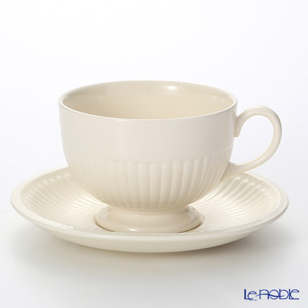 Wedgwood 'Edme Plain' Breakfast Cup & Saucer 300ml
