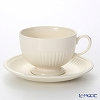 Wedgwood 'Edme Plain' Breakfast Cup & Saucer 300ml