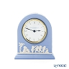 Wedgwood 'Jasperware - Pale Blue' Grecian Desk Clock 11xH12.5cm