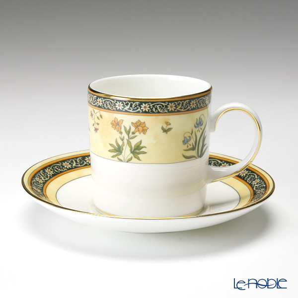 ウェッジウッド(Wedgwood) インディア コーヒーカップ&ソーサー(キャン)