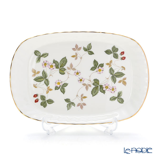 Wedgwood Wild Strawberry Spiral Tray