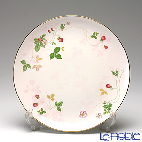 Wedgwood Wild Strawberry Pastel Coupe Salad Plate 20 cm, pink