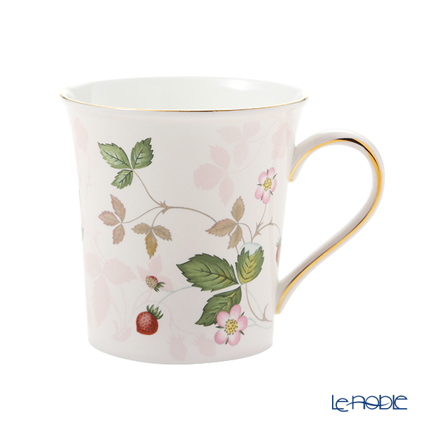 Wedgwood Wild Strawberry Pastel Beaker, pink