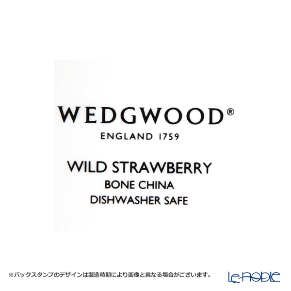 ウェッジウッド(Wedgwood) ワイルドストロベリー パステルマグ(デルフィ) 300cc ピンク