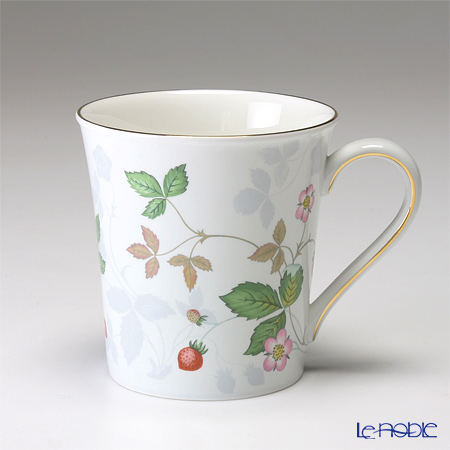 Wedgwood Wild Strawberry Pastel Plue Beaker / Delphi shape Mug 300ml