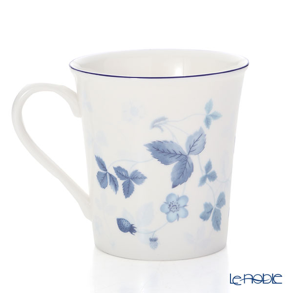 Wedgwood 'Straebwerry Blue' Delphi Beaker Mug 300ml