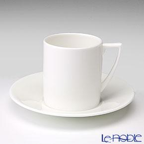 ウェッジウッド(Wedgwood) ジャスパーコンラン ホワイト コーヒーカップ&ソーサー