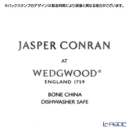 ウェッジウッド(Wedgwood) ジャスパーコンラン ホワイトプレート(ストラータ模様) 27cm