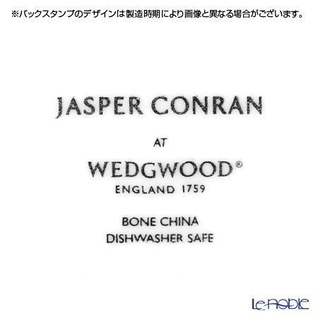 ウェッジウッド(Wedgwood) ジャスパーコンラン ホワイトプレート(ストラータ模様) 18cm