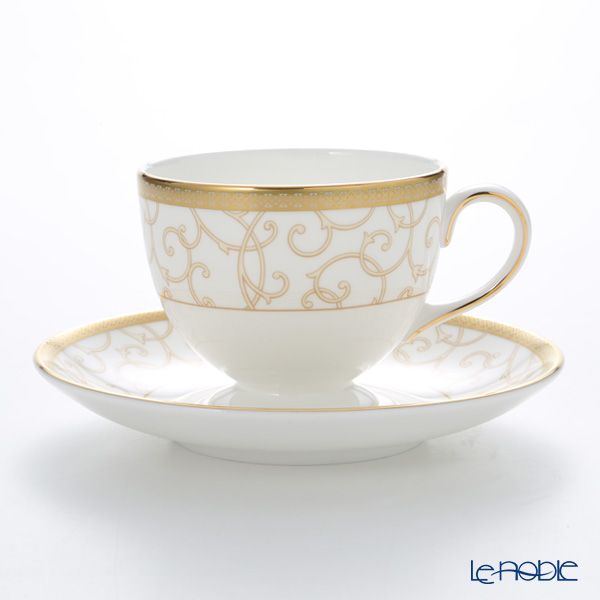 Wedgwood Celestial Gold Leigh Tea Cup & Saucer 150ml