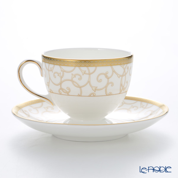 Wedgwood Celestial Gold Leigh Teacup & Saucer