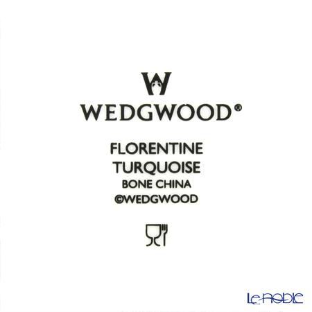 ウェッジウッド(Wedgwood) フロレンティーン ターコイズオクタゴナルディッシュ L 24cm