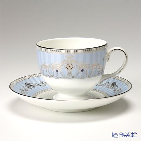 Wedgwood 'Alexandra' Leigh Tea Cup & Saucer 200ml