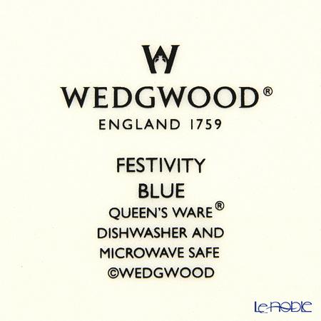 Wedgwood Festivity Blue Plate 21 cm
