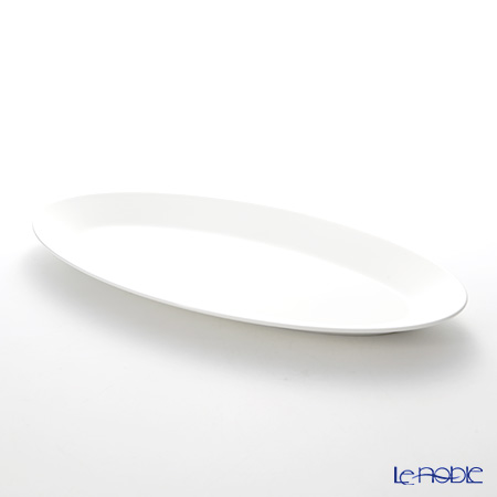 Wedgwood 'Jasper Conran' White Oval Dish 42x21cm *