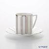 Wedgwood Jasper Conran Platinum Striped Accent Espresso Cup & Saucer