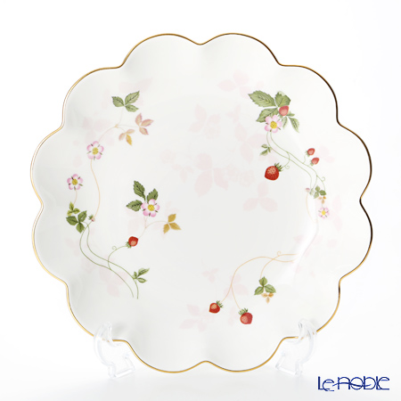 Wedgwood Wild Strawberry Petal Tray 24 cm