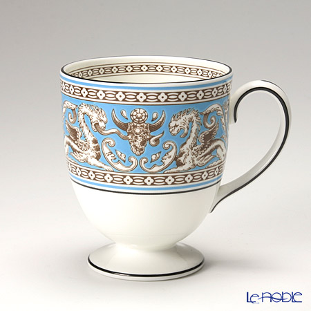 ウェッジウッド(Wedgwood) フロレンティーン ターコイズマグカップ(リー)