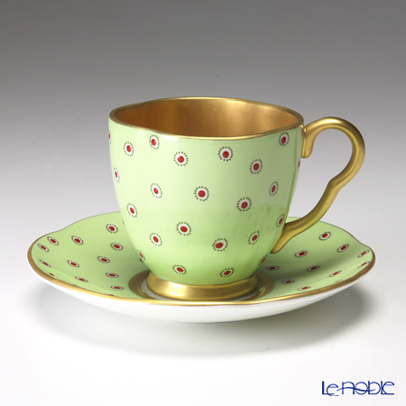 Wedgwood Polka Dot Cup and Saucer
