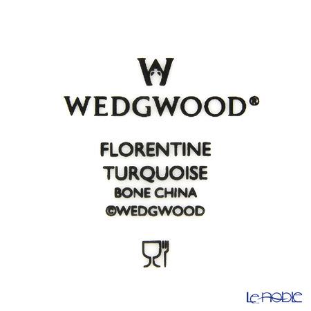 ウェッジウッド(Wedgwood) フロレンティーン ターコイズスクエアトレイ 11.5cm