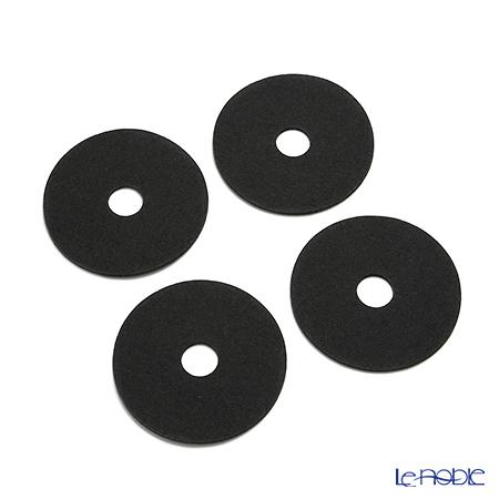 ベルソデザイン RINKIコースター 4枚セット グレイ 9.5cm