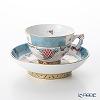 Herend Cornucopia Tuppini / Tupini Corne d'Abondance TCA 03371-0-21 Mocha Cup & Saucer (Mandarin handle / openwork) 100ml