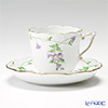 Herend 'Imola' Purple IA 00706-0-00 Coffee Cup & Saucer 160ml