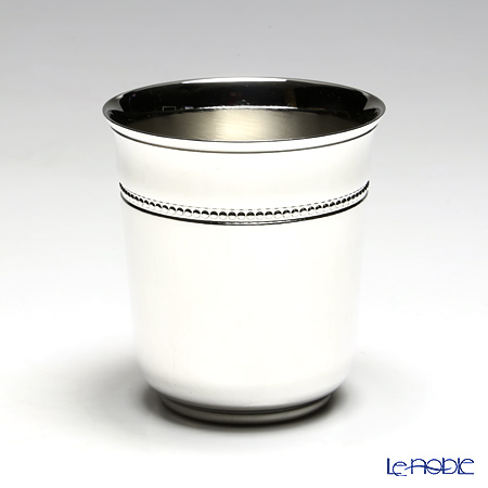 Christofle 'Perles' 4260200 [Silver Plated] Baby Tumbler Cup