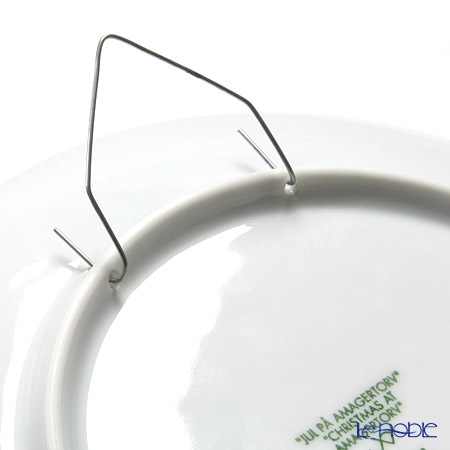 壁掛け皿(プレート)用フック(イヤープレートなど裏に穴のあるもの)