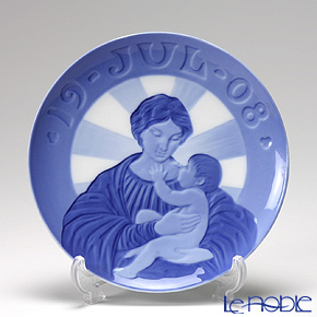 Royal Copenhagen Christmas Plate 1908 - 'Madonna & Child'