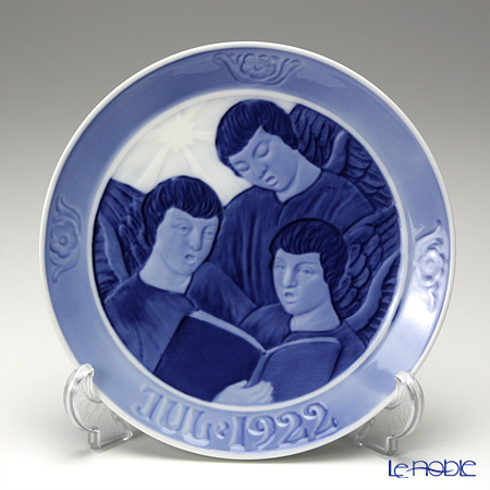 Royal Copenhagen Collectibles 'Three Singing Angels' [1922] Christmas Plate 18cm