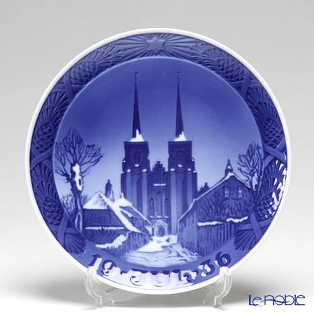 Royal Copenhagen Collectibles 'Roskilde Cathedral' 1936 Christmas Plate 18cm